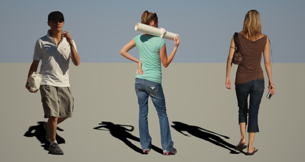 adding cut out people to 3d scenes easy3dsource architectural