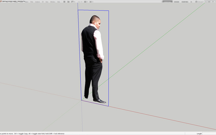 Using Cut Out People in SketchUp - Easy3dsource